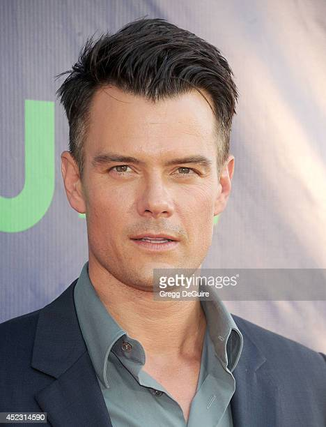 Actor Josh Duhamel arrives at the 2014 Television Critics Association Summer Press Tour CBS CW And Showtime Party at Pacific Design Center on July 17...