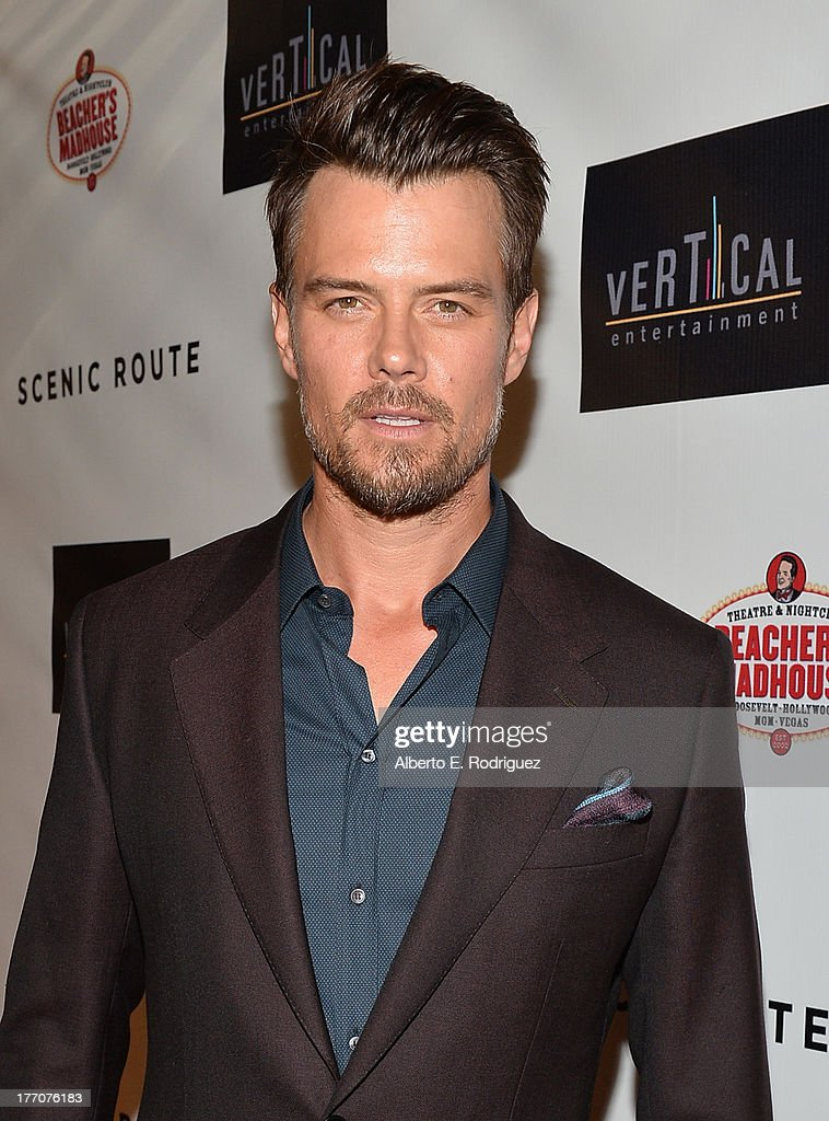 Actor Josh Duhamel arrives at the premiere of Vertical Entertainment's 'Scenic Route' at Chinese 6 Theater- Hollywood on August 20, 2013 in Hollywood, California.