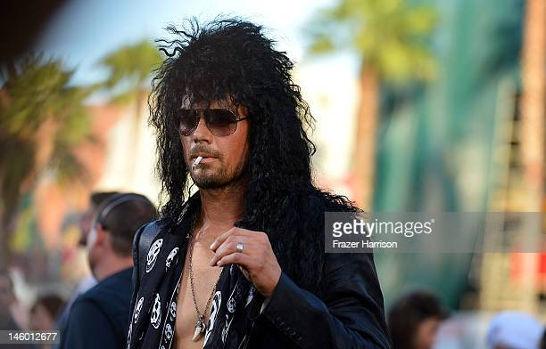 Actor Josh Duhamel arrives at the premiere of Warner Bros Pictures' 'Rock of Ages' at Grauman's Chinese Theatre on June 8 2012 in Hollywood California
