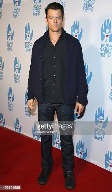 Actor Josh Duhamel arrives at the Save A Child's Heart Celebration Honorary Ceremony at Sony Studios on November 16 2014 in Los Angeles California