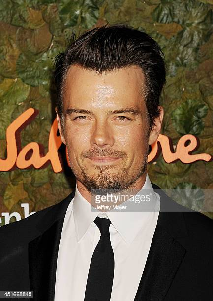 Actor Josh Duhamel arrives at the Wallis Annenberg Center For The Performing Arts Inaugural Gala at Wallis Annenberg Center for the Performing Arts...