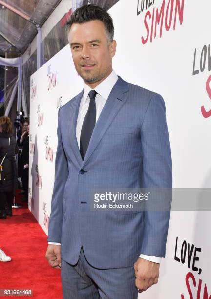 Actor Josh Duhamel attends a special screening of 20th Century Fox's 'Love Simon' at Westfield Century City on March 13 2018 in Los Angeles California