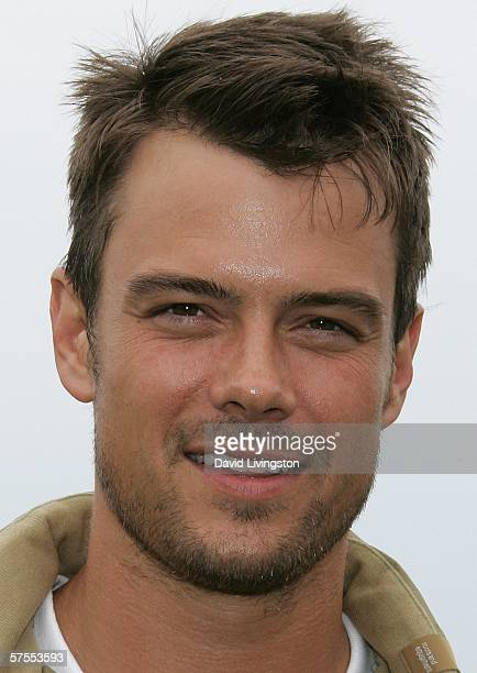 Actor Josh Duhamel attends the 8th annual Michael Douglas & Friends Golf Tournament presented by Lexus at the Trump National Golf Club on May 7, 2006...
