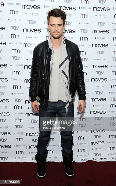 Actor Josh Duhamel attends the Moves' 2013 Spring Fashion Issue Mens Cover Party at TOY at Gansevoort Hotel on February 26 2013 in New York City