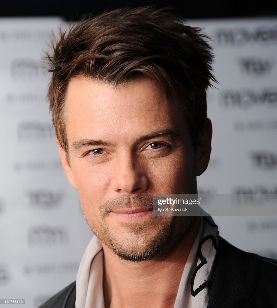 Actor Josh Duhamel attends the Moves' 2013 Spring Fashion Issue Mens Cover Party at TOY at Gansevoort Hotel on February 26, 2013 in New York City.