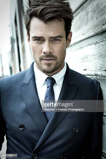 Actor Josh Duhamel is photographed for August Man on March 7 2013 in Los Angeles California Styling Ilaria Urbinati Grooming Cheri Keating Wool...