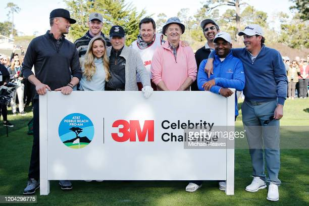 Actor Josh Duhamel Kyle Rudolph of the Minnesota Vikings Golf Channel host Kira Dixon actor Clint Eastwood Sir Nick Faldo actor Bill Murray actor Ray...