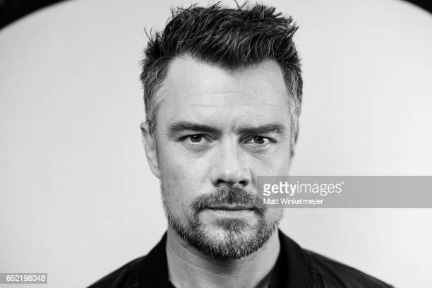 Actor Josh Duhamel poses for a portrait during the 'This Is Your Death' premiere 2017 SXSW Conference and Festivals on March 11 2017 in Austin Texas