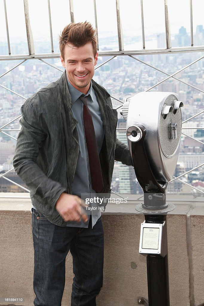 Josh Duhamel Visit The Empire State Building