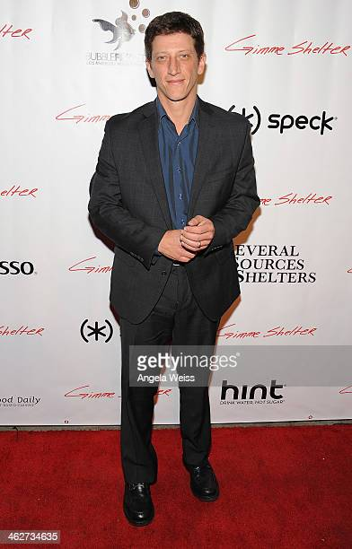 Actor Josh Feinman arrives at the screening of Roadside Attractions Day 28 Films Gimme Shelter at the Egyptian Theatre on January 14 2014 in...