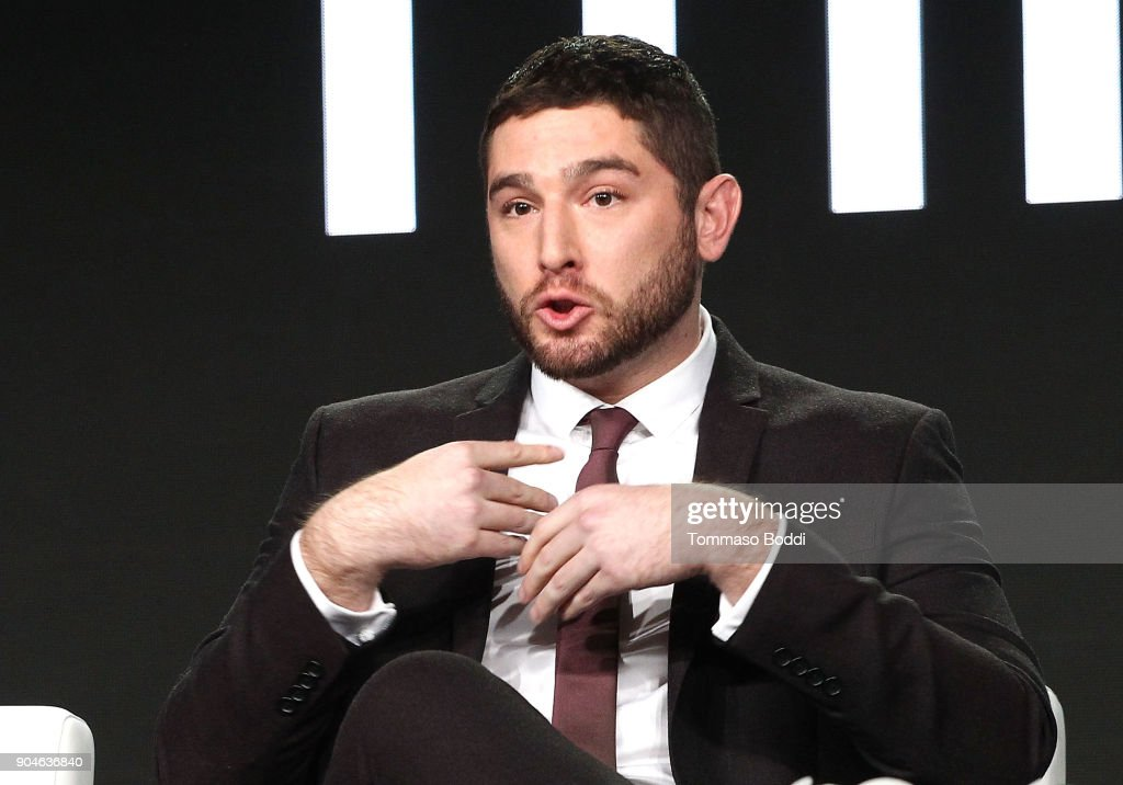 Actor Josh Feldman of the Sundance Now television show This Close participates in a panel discussion onstage during the AMC portion of the 2018 Winter Television Critics Association Press Tour on January 13, 2018 in Pasadena, California.