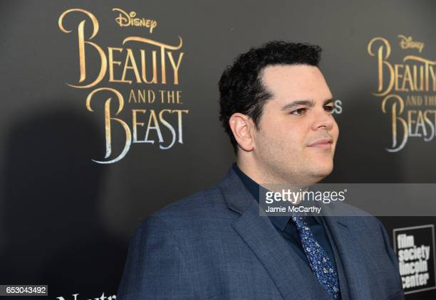 Actor Josh Gad arrives at the New York special screening of Disney's liveaction adaptation 'Beauty and the Beast' at Alice Tully Hall on March 13...