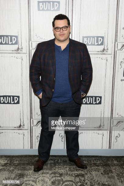 Actor Josh Gad attends Build Series Presents Josh Gad Discussing 'Beauty And The Beast' at Build Studio on March 15 2017 in New York City
