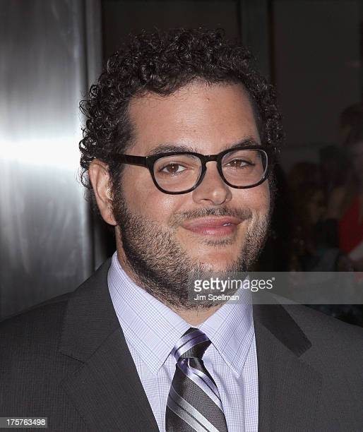"""Actor Josh Gad attends """"Jobs"""" New York Premiere at MOMA on August 7, 2013 in New York City."""