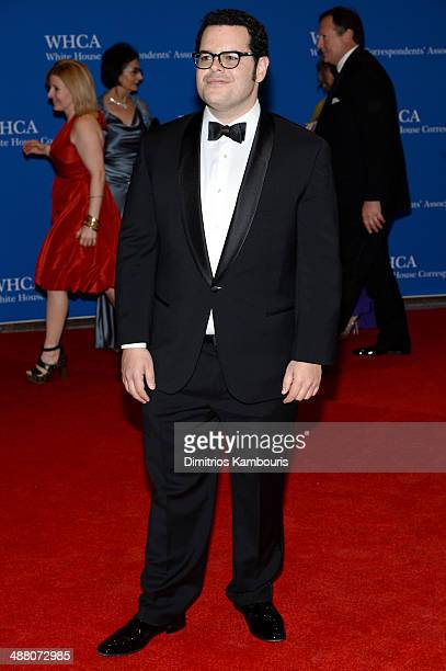 Actor Josh Gad attends the 100th Annual White House Correspondents' Association Dinner at the Washington Hilton on May 3 2014 in Washington DC