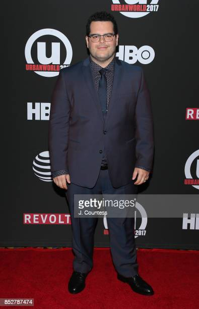 Actor Josh Gad attends the 21st Annual Urbanworld Film Festival at AMC Empire 25 theater on September 23 2017 in New York City