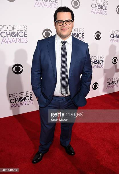 Actor Josh Gad attends The 41st Annual People's Choice Awards at Nokia Theatre LA Live on January 7 2015 in Los Angeles California