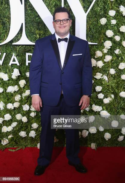 Actor Josh Gad attends the 71st Annual Tony Awards at Radio City Music Hall on June 11 2017 in New York City