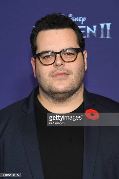 Actor Josh Gad attends the 'Frozen 2' Fan Event held at Scotiabank Theatre on November 04 2019 in Toronto Canada