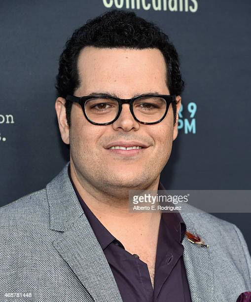 Actor Josh Gad attends the premiere of FX's The Comedians at The Broad Stage on April 6 2015 in Santa Monica California
