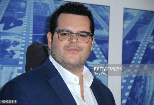 Actor Josh Gad attends the premiere of HBO's 'Spielberg' at Paramount Studios on September 26 2017 in Hollywood California