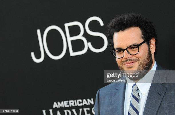 """Actor Josh Gad attends the premiere of """"Jobs"""" at Regal Cinemas L.A. Live on August 13, 2013 in Los Angeles, California."""