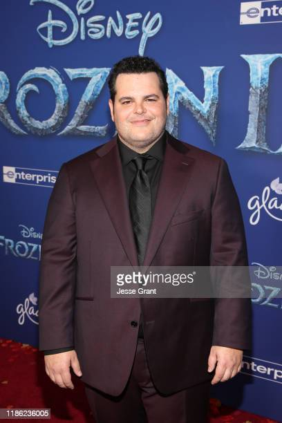 """Actor Josh Gad attends the world premiere of Disney's """"Frozen 2"""" at Hollywood's Dolby Theatre on Thursday, November 7, 2019 in Hollywood, California."""