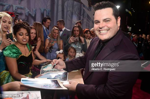 Actor Josh Gad attends the world premiere of Disney's Frozen 2 at Hollywood's Dolby Theatre on Thursday November 7 2019 in Hollywood California