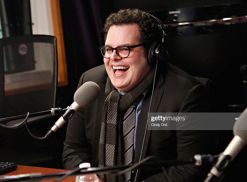 Actor Josh Gad visits 'The Opie & Anthony Show' at the SiriusXM Studios on January 18, 2013 in New York City.