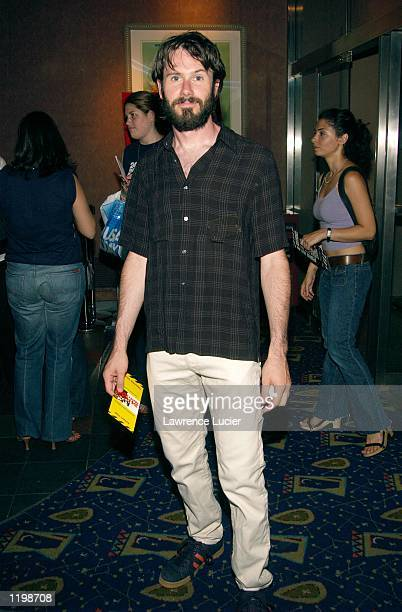 Actor Josh Hamilton arrives at the premiere of the United Artists film 24 Hour Party People August 1 2002 in New York City The film chronicles the...
