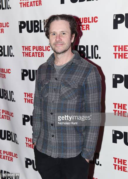 Actor Josh Hamilton attends the 14th Annual Under The Radar Festival opening night at The Public Theater on January 4 2018 in New York City