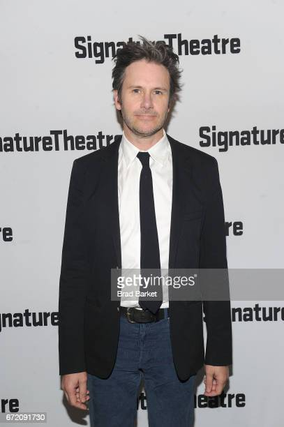 Actor Josh Hamilton attends The Antipodes opening night party at Signature Theatre Company at Pershing Square Signature Center on April 23 2017 in...
