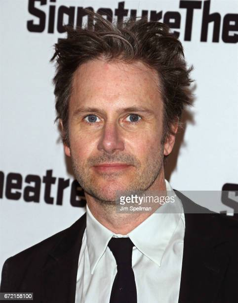 Actor Josh Hamilton attends the The Antipodes opening night party at Signature Theatre Company's Pershing Square Signature Center on April 23 2017 in...