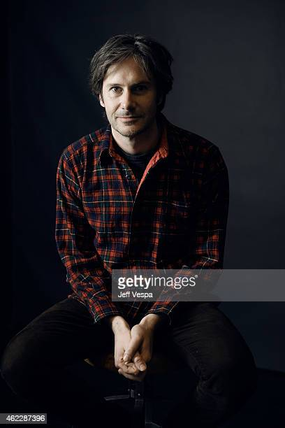 Actor Josh Hamilton of Take Me to the River poses for a portrait at the Village at the Lift Presented by McDonald's McCafe during the 2015 Sundance...