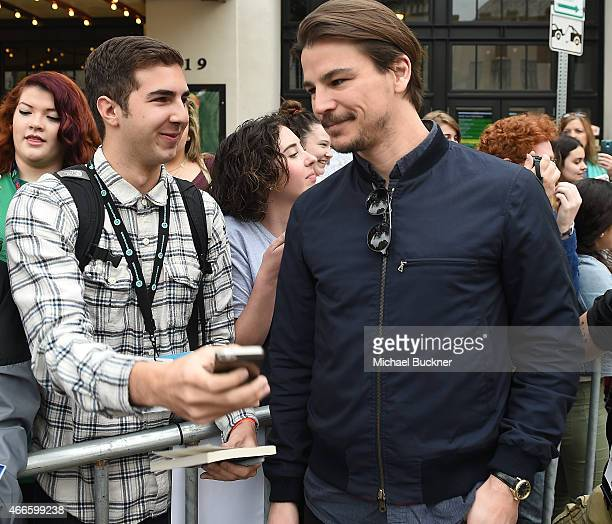 """Actor Josh Hartnett arrives at the premiere of """"Wild Horses"""" during the 2015 SXSW Music, FIlm + Interactive Festival at the Paramount Theatre on..."""