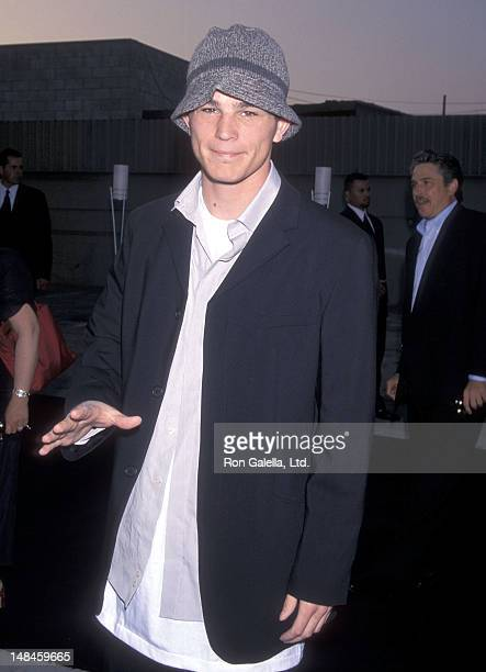 Actor Josh Hartnett attends Giorgio Armani Hosts a Private Party to Celebrate Christie's Benefit Auction of Eric Clapton's Historical Guitar...