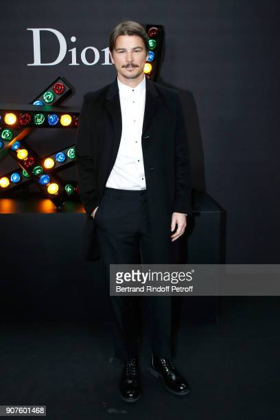 Actor Josh Hartnett attends the Dior Homme Menswear Fall/Winter 20182019 show as part of Paris Fashion Week on January 20 2018 in Paris France