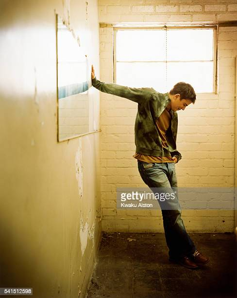Actor Josh Hartnett is photographed for Premiere US Magazine in 2002.