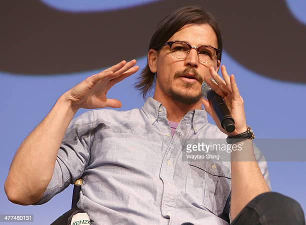 Actor Josh Hartnett speaks onstage at 'Penny Dreadful' during the 2014 SXSW Music Film Interactive Festival at Austin Convention Center on March 9...
