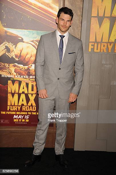 """Actor Josh Helman arrives at the premiere of """"Mad Max: Fury Road"""" held at the TCL Chinese Theater in Hollywood."""