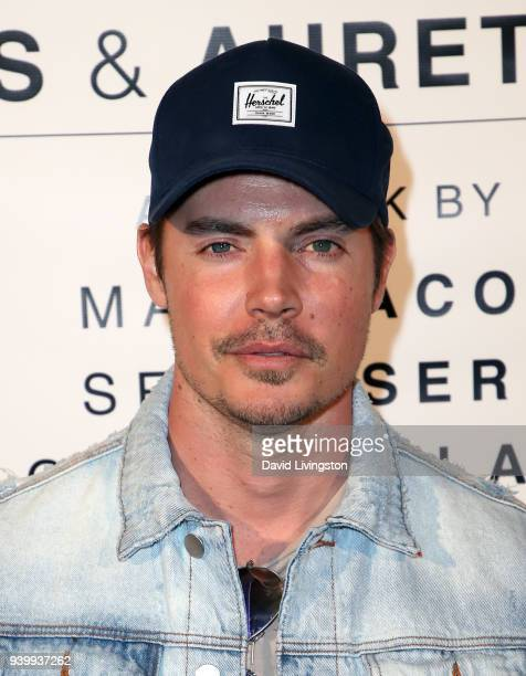 Actor Josh Henderson attends Art with a Cause hosted by Shaun Ross Aureta benefiting the Freedom United Foundation for the victims of human...