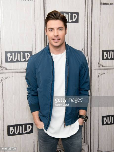 Actor Josh Henderson attends Build Series to discuss 'The Arrangement' at Build Studio on February 28 2017 in New York City