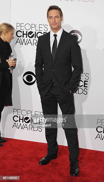 Actor Josh Holloway arrives at The 40th Annual People's Choice Awards at Nokia Theatre LA Live on January 8 2014 in Los Angeles California