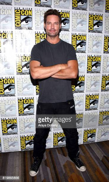 Actor Josh Holloway at the 'Colony' press line during ComicCon International 2017 at Hilton Bayfront on July 20 2017 in San Diego California
