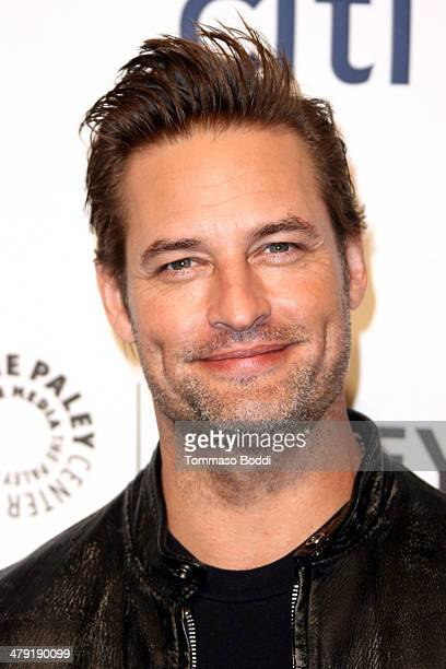 Actor Josh Holloway attends the 2014 PaleyFest 'Lost' 10th anniversary reunion held at the Dolby Theatre on March 16 2014 in Hollywood California