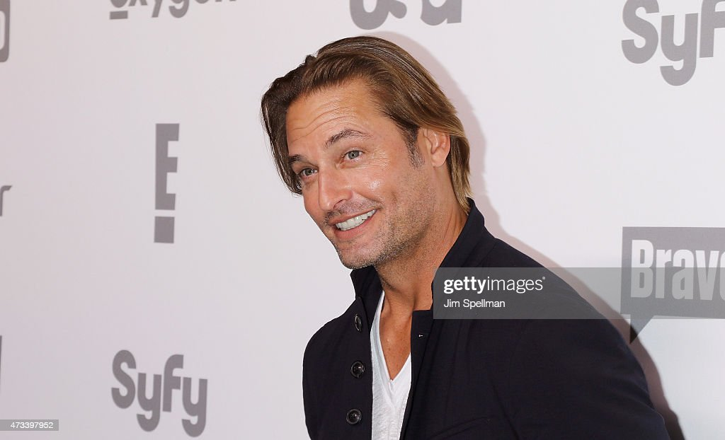 Actor Josh Holloway attends the 2015 NBCUniversal Cable Entertainment Upfront at The Jacob K. Javits Convention Center on May 14, 2015 in New York City.