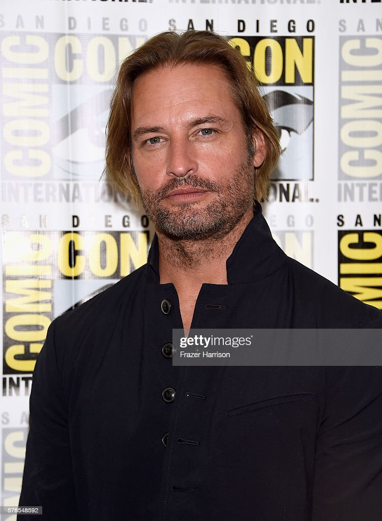 Actor Josh Holloway attends the 'Colony' press line during Comic-Con International 2016 at Hilton Bayfront on July 21, 2016 in San Diego, California.