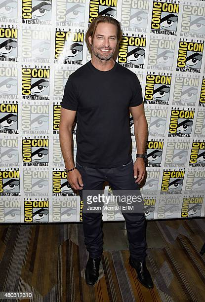 Actor Josh Holloway attends the Colony press room during ComicCon International 2015 at the Hilton Bayfront on July 10 2015 in San Diego California