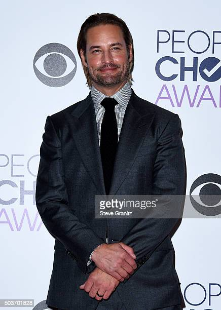 Actor Josh Holloway attends the People's Choice Awards 2016 at Microsoft Theater on January 6 2016 in Los Angeles California