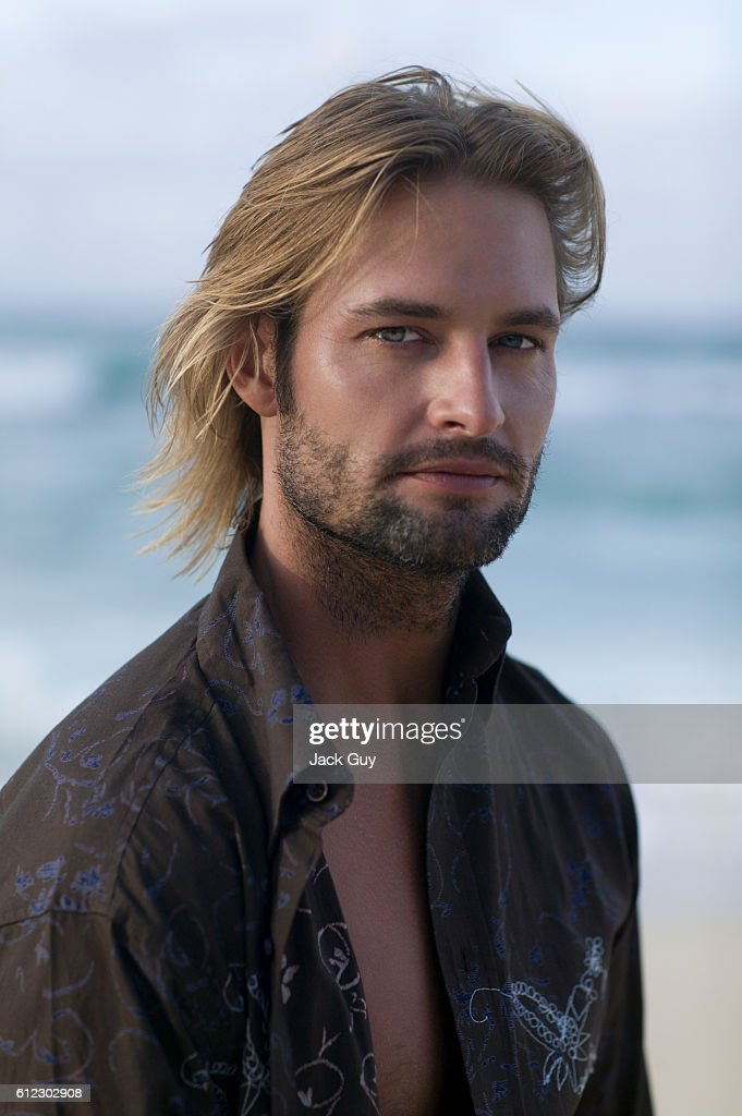 Actor Josh Holloway is photographed for TV Guide Magazine on October 4, 2004.